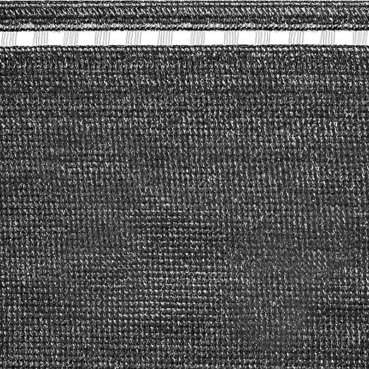 Tenax Malla Tejida para ocultación, Coimbra Dark, Gris Antracita, 5000 x 0.1 x 100 cm, 1 a150193: Amazon.es: Jardín