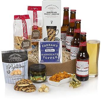 Beer lovers hamper food beer gift for him luxury beer gifts beer lovers hamper food beer gift for him luxury beer gifts hampers negle Gallery