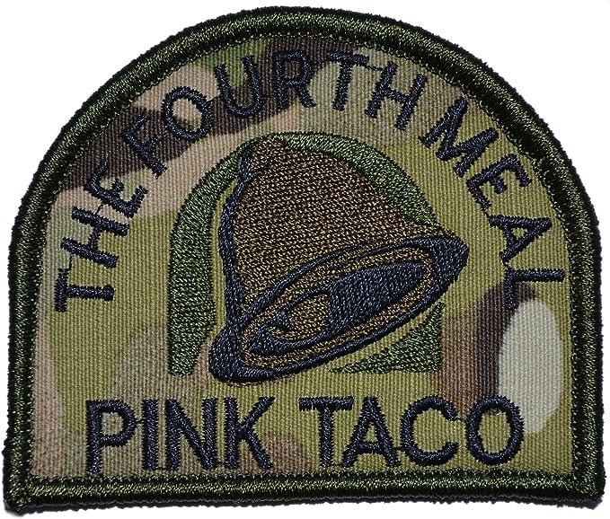 Rosa taco – el cuarto comida Militar parche/Moral parche – varios ...
