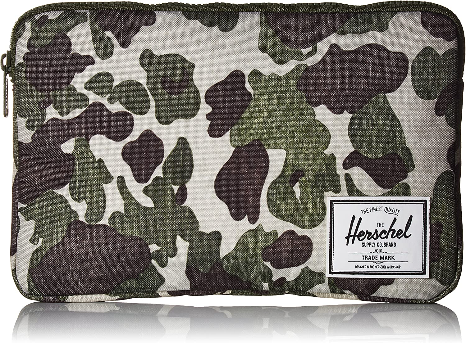 Herschel Anchor Sleeve for MacBook/iPad, frog camo, 12-Inch