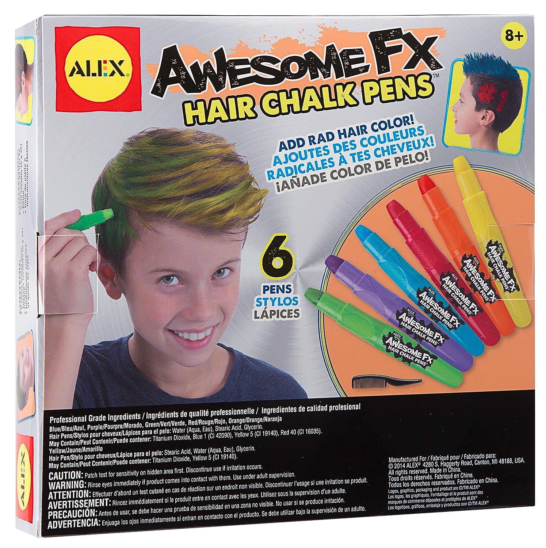 Amazon ALEX Toys Guy Gear Awesome FX Hair Chalk Pens Toys