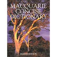 Macquarie Concise Dictionary Eighth Edition