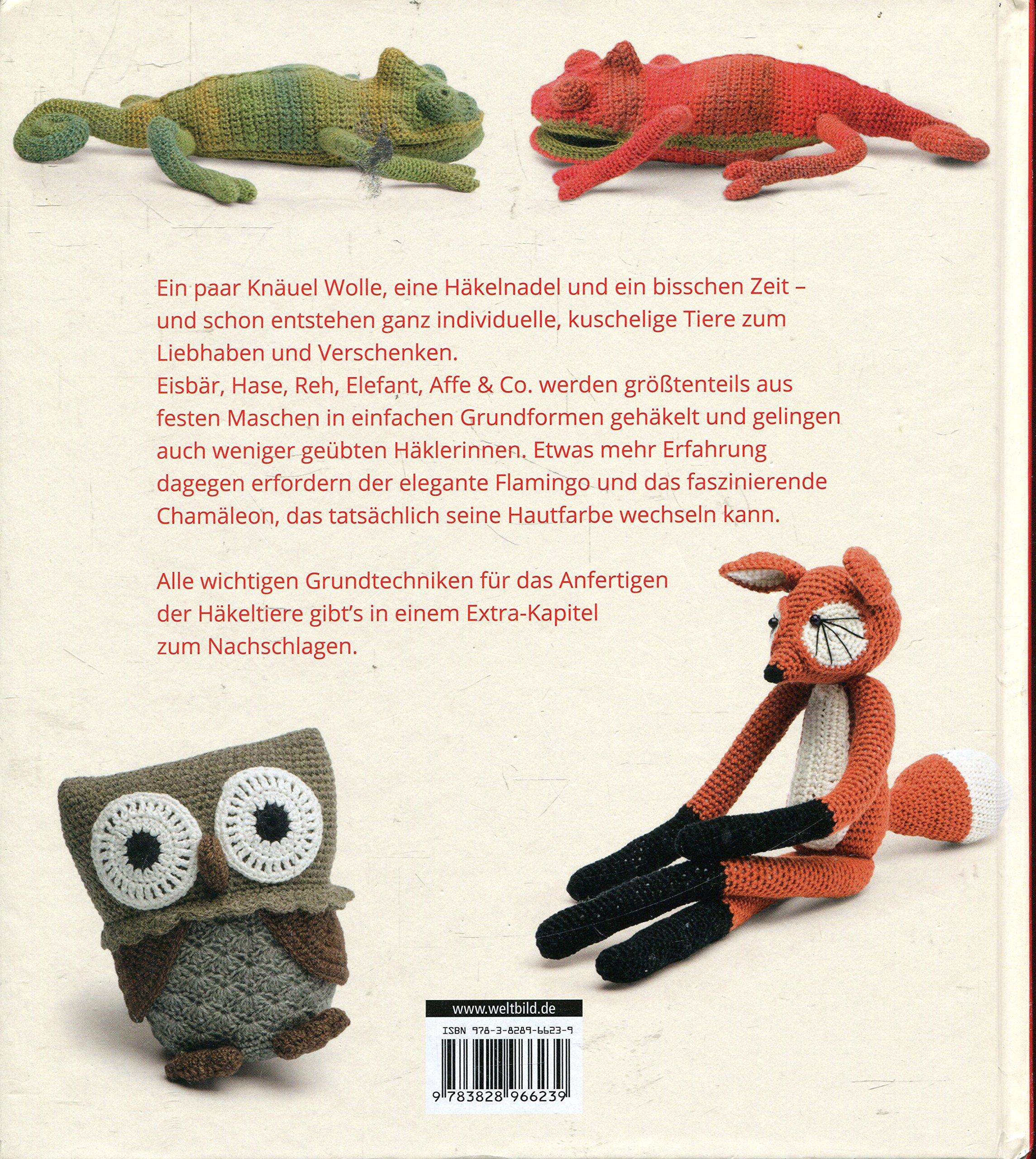 Liebenswerte Häkeltiere Amazonde Vanessa Mooncie Bücher