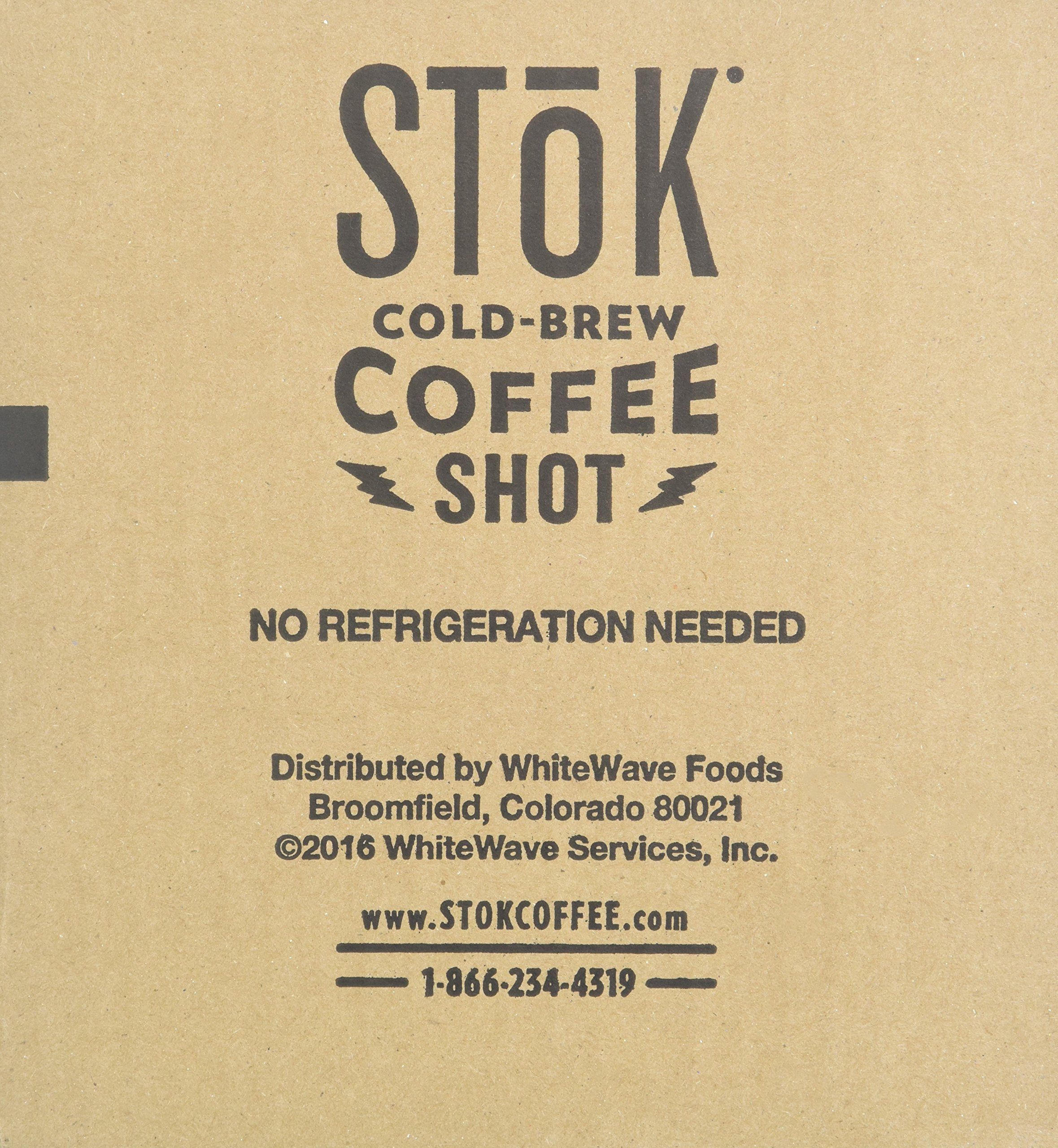 SToK Caffeinated Black Coffee Shots, 264 Single-Serving Shots, Single-Serve Shot of Unsweetened Coffee, Add to Coffee for Extra Caffeine, 40mg Caffeine (Packaging May vary) by SToK (Image #7)