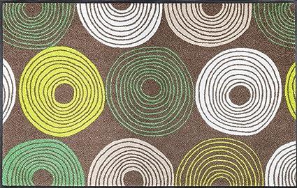 Mosaikfliesen Fliesen Mosaik K/üche Bad WC Wohnbereich Fliesenspiegel Keramik Quadrat uni steingrau 6mm rutschhemmend R10#248