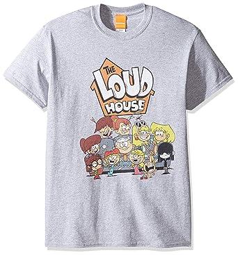 4a5a8d0a8f Amazon.com: Nickelodeon Loud House Men's T-Shirt: Clothing