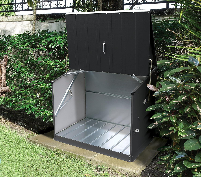 #Gartenbox Stowaway aus PVC / Stahl#