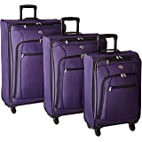 American Tourister AT Pops Plus 3pc Nested Set 21 25/Spinner 29), Purple