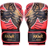 Hawk Boxing Gloves Fight Fighting Sparring Punch Bag Title Training Bag Mitts MMA Muay thai Kick Boxing Gloves