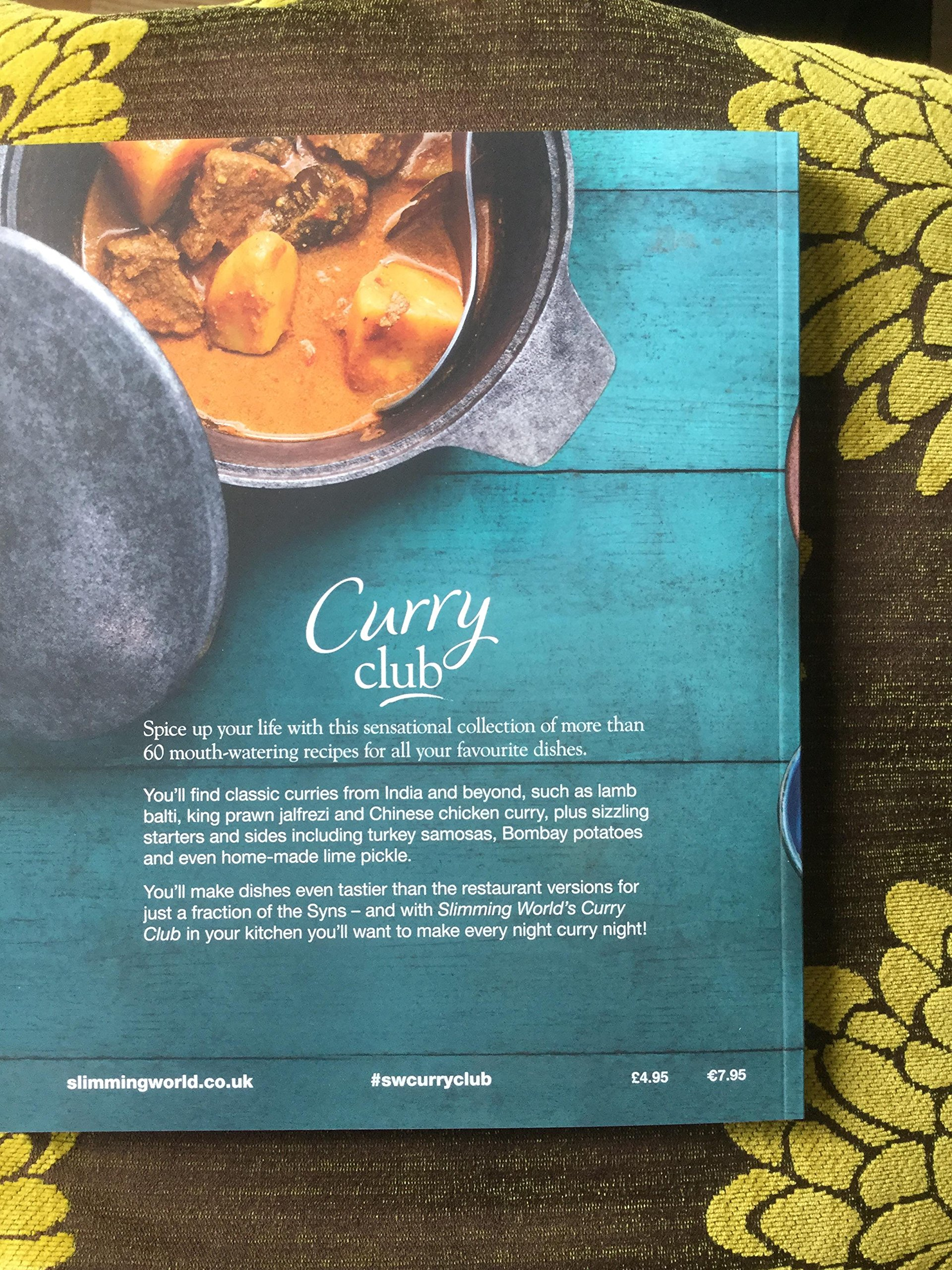 Slimming World Curry Club Amazoncouk Slimming World