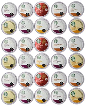 Starbucks For All Keurig Brewers Variety Flavors K-Cup