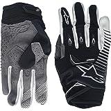 Alpinestars Unisex-Adult Techstar Gloves (Black/White, Large)