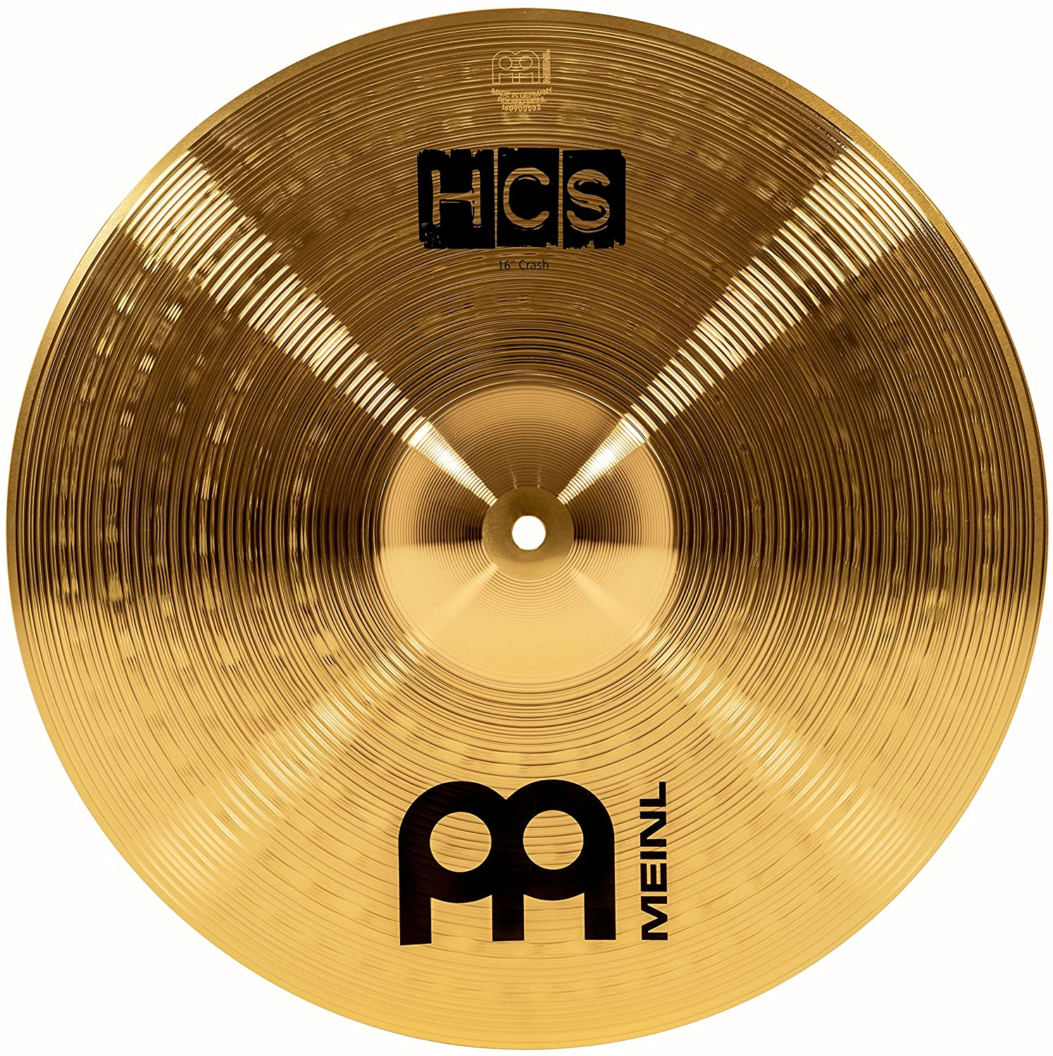 Platillo Meinl 16 crash tradicional