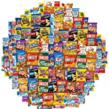 Snack Chest Care Package (120 Count) Variety Snacks Gift Box - College Students, Military, Work or Home - Over 9 Pounds…