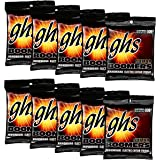 GHS Strings GHS Boomers Roundwound Electic Guitar Strings Custom Light GBCL 10 Pack (9-46)