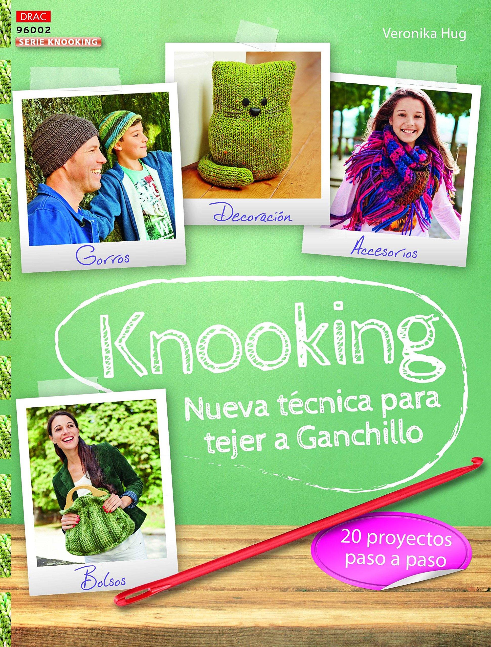 Crea Con Patrones. Knooking Nueva Técnica De Ganchillo ...