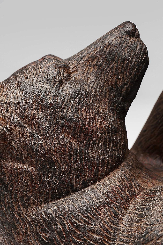 29x26,5x13,5cm Polyresin B/ärenfamilie Deko Braun Dekoobjekt Animal Wohnzimmer Dekoration im Kolonialstil Kare Design Deko Objekt Artistic Bears H//B//T