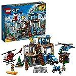 LEGO City  Quartel-General da Polícia na Montanha 60174