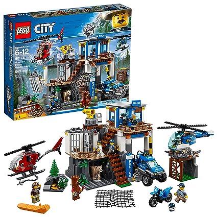 Amazoncom Lego City Mountain Police Headquarters 60174 Building