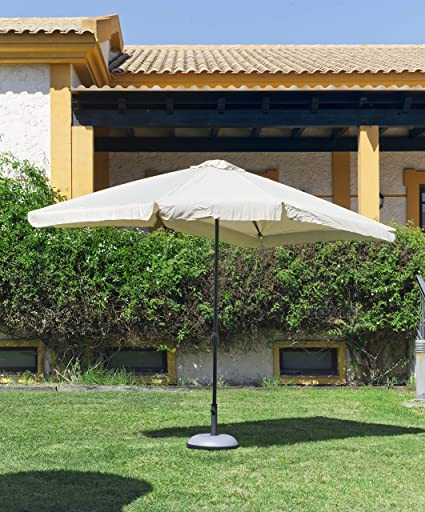 Hevea Parasol Mallorca 300 Aluminio, Verde: Amazon.es: Jardín
