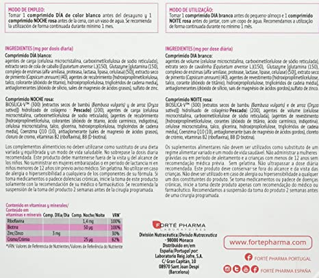 TURBOSLIM Cronoactive 45+ mujer 56 comps: Amazon.es: Salud y cuidado personal