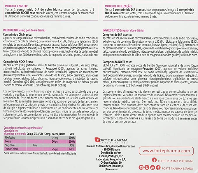 Forté Pharma Iberica Turboslim 45+ Complemento Alimenticio - 56 Tabletas