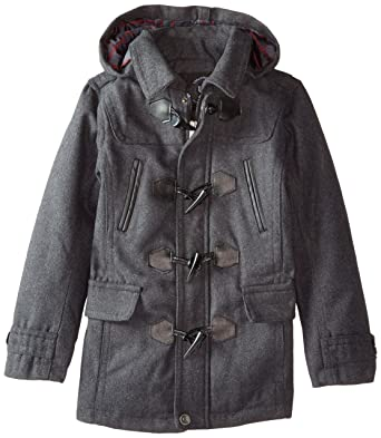 d8c5094e1 Amazon.com  Urban Republic Big Boys  Classic Hooded Toggle Coat ...