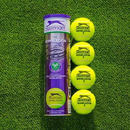 Slazenger pelotas de tenis de Wimbledon | pelotas de tenis – Campeonato de Wimbledon pelotas de