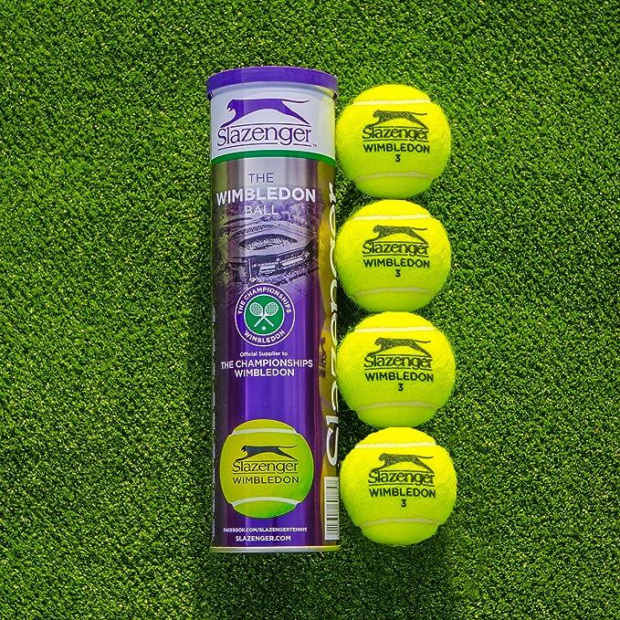 Net World Sports Slazenger Wimbledon - Pelotas de Tenis Estándar ...