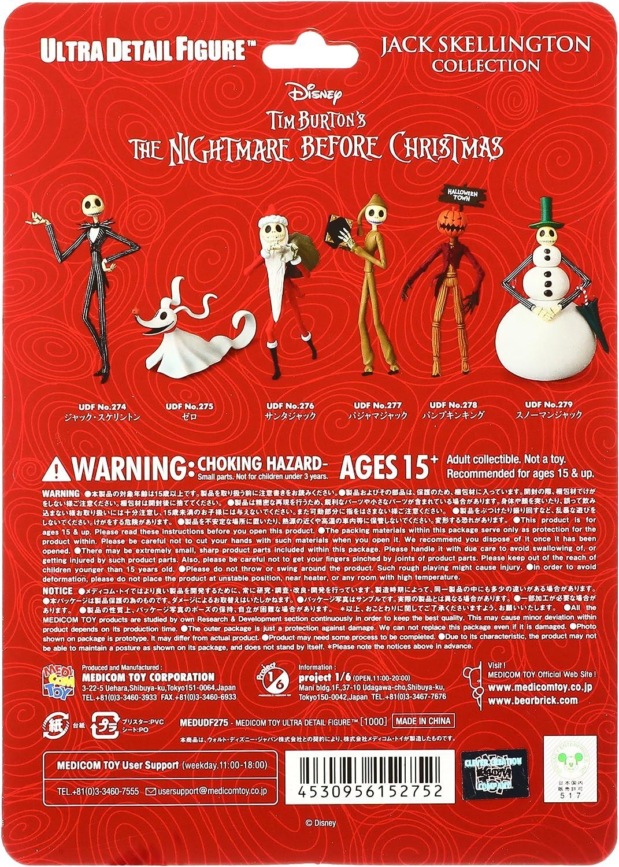 Medicom Ultra Detail Figure Nightmare Before Christmas Jack Skellington Japan