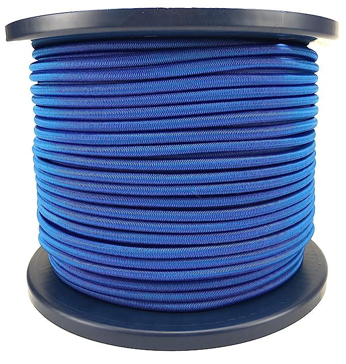 6mm Azul Real Cuerda Elástica Cuerda Elástica, Corbata Abajo ...
