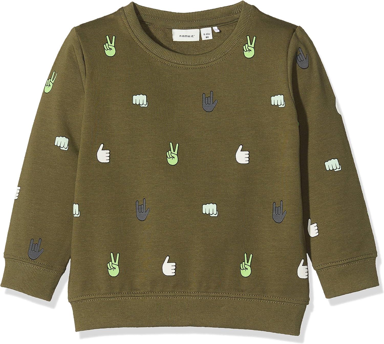 Name It Baby Boys Nmmtalph Ls SWE Unb Sweatshirts