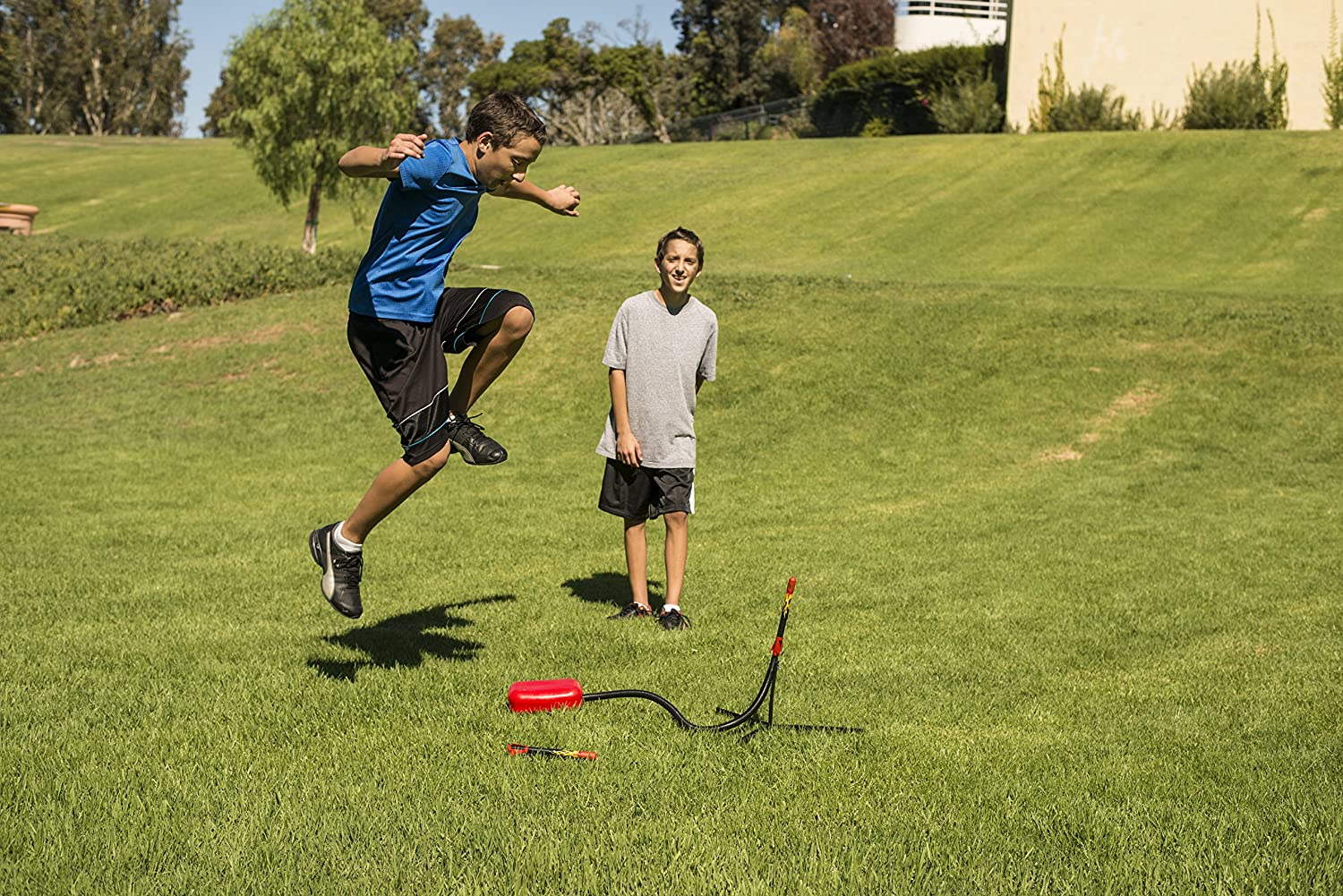 Stomp Rocket Extreme Rocket 6 Rockets - Outdoor Rocket Toy Gift for Boys