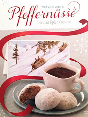 Trader Joe S Pfeffernusse German Spice Cookies Limited Holiday Edition 16 Ounce Box 2 Pack