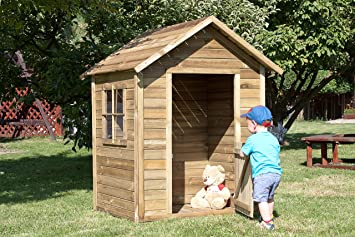 Avanti Trendstore - Caseta para niños, color marrón de imitación: Amazon.es: Hogar
