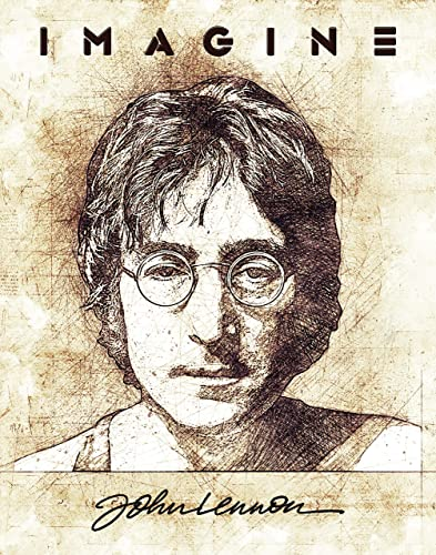 Amazon Com John Lennon Art Prints 11 X 14 Unframed Print Great Gifts Handmade