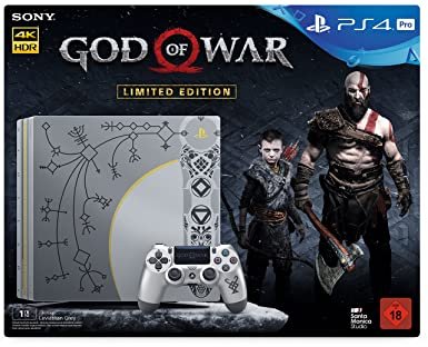 Playstation 4 1tb Pro Limited Edition God Of War Day 1 Edition