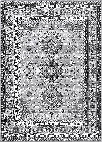 nuLOOM Daenerys Persian Area Rug, 5 x 8 , Grey