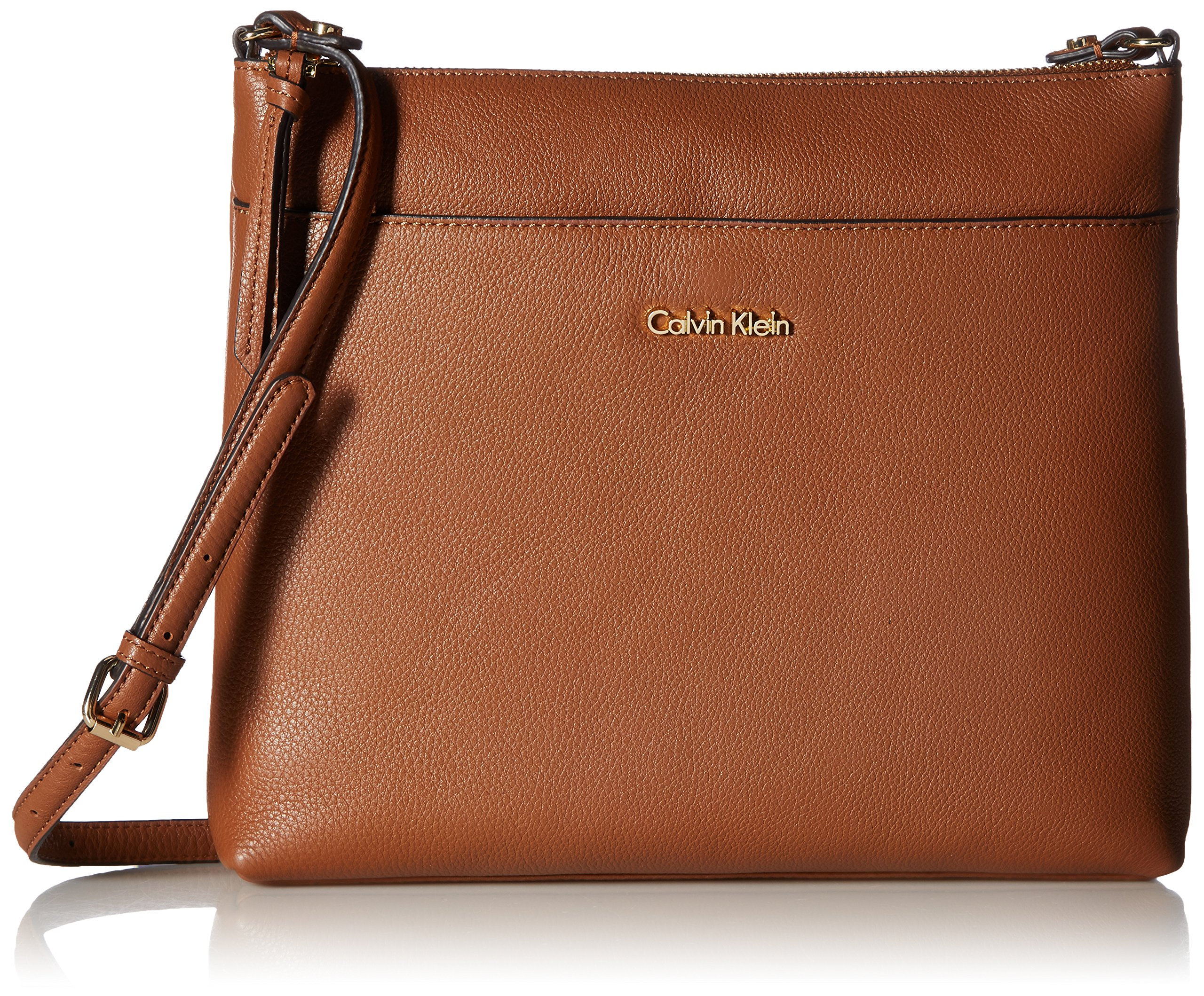 Calvin Klein Pebble Top Zip N/s Large Crossbody