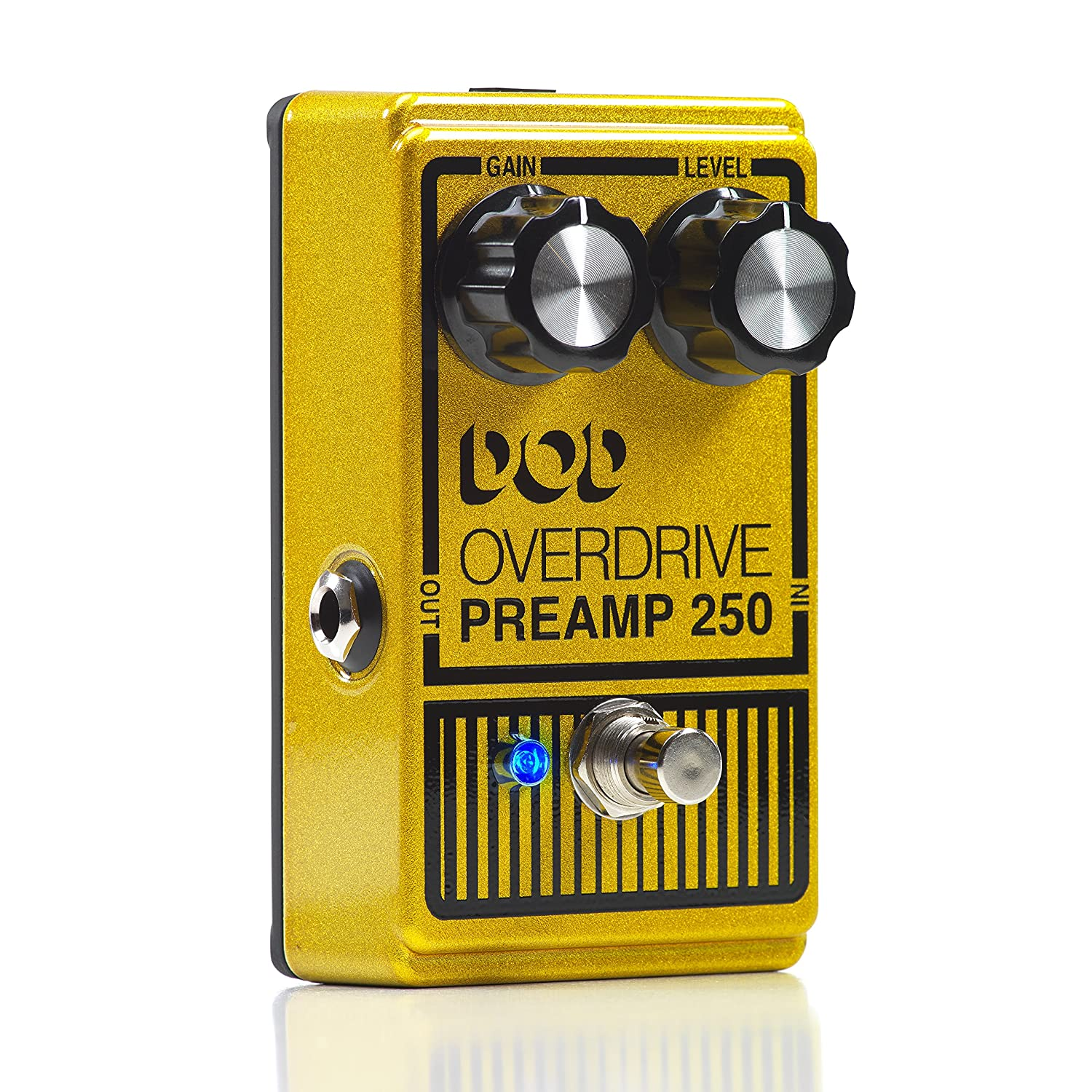 dod overdrive preamp 250 guitar effects pedal