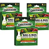 Spectracide Bag-A-Bug Japanese Beetle Trap2 - 18 Bags Total (3 Packages with 6 Bags each)