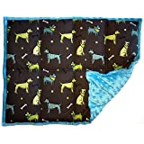 Weighted Sensory Lap Pads - from 3 to 12 lbs & More than 10 Designs (7 lbs, The Dog Park)