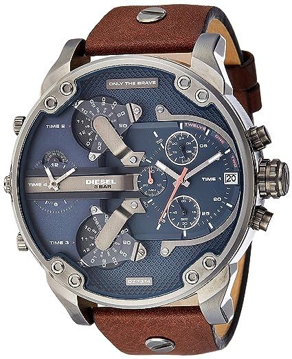 97244cc80744 Diesel Reloj Multiesfera para Hombre de Cuarzo con Correa en Ninguno  DZ7314  Amazon.es  Relojes