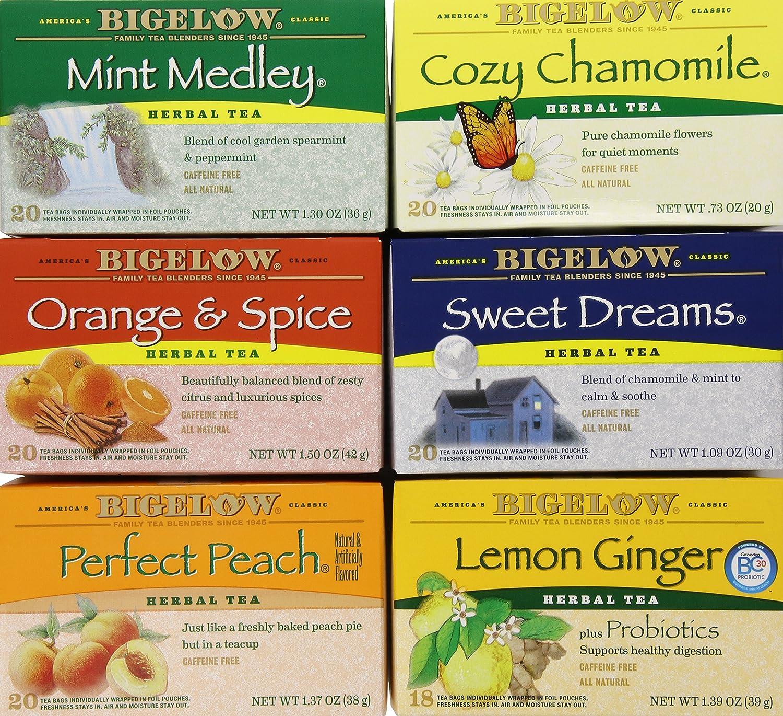 Bigelow herbal tea - Amazon Com Bigelow Mixed Herb Teas 118 Count Herbal Teas Grocery Gourmet Food