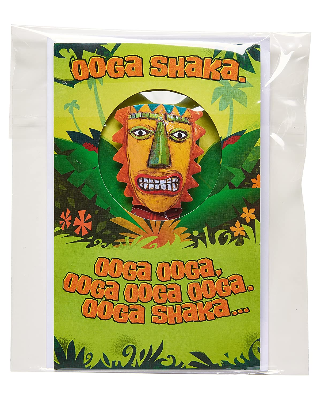 Amazon American Greetings Funny Ooga Shaka Birthday Card With