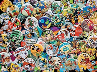 product image for Ceaco Disney Collections Vintage Buttons Jigsaw Puzzle, 750 Pieces