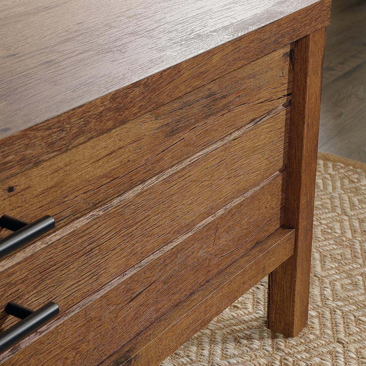 Sauder 420233 New Grange Coffee Table, Vintage Oak