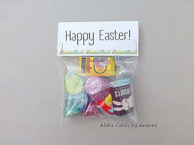 Amazon easter basket filler happy easter bag topper classroom easter basket filler happy easter bag topper classroom gift easter bunny easter negle Choice Image