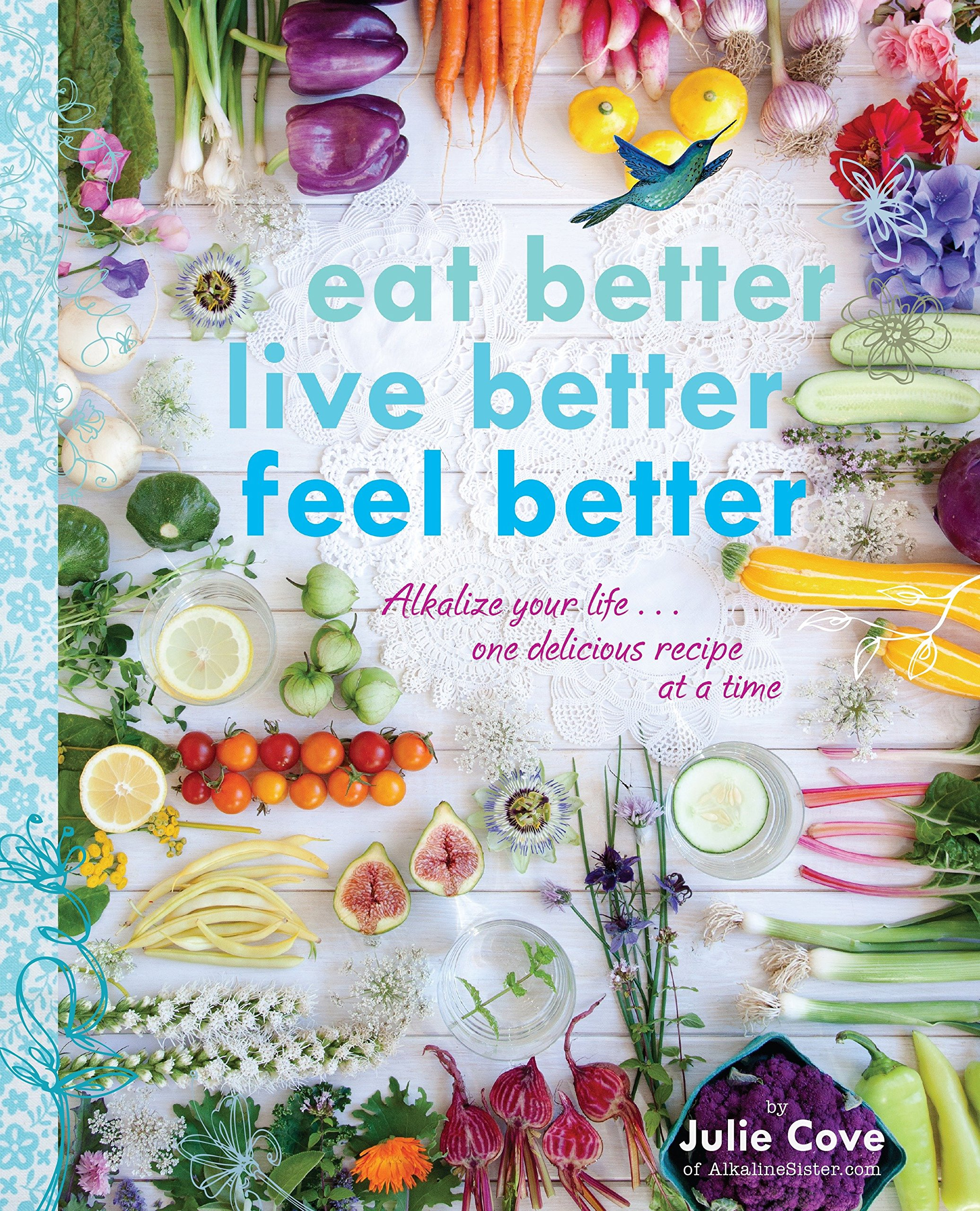 Read Online Eat Better, Live Better, Feel Better: Alkalize Your Life...One Delicious Recipe at a Time pdf epub