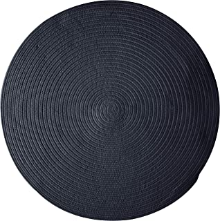 product image for Colonial Mills Bristol Polypropylene Braided Round Rug, 8-Feet, Blue Moon